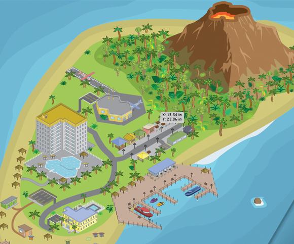 mapVolcanoIsland