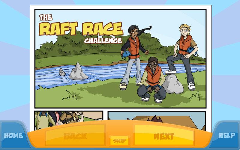 math 4 comic screen