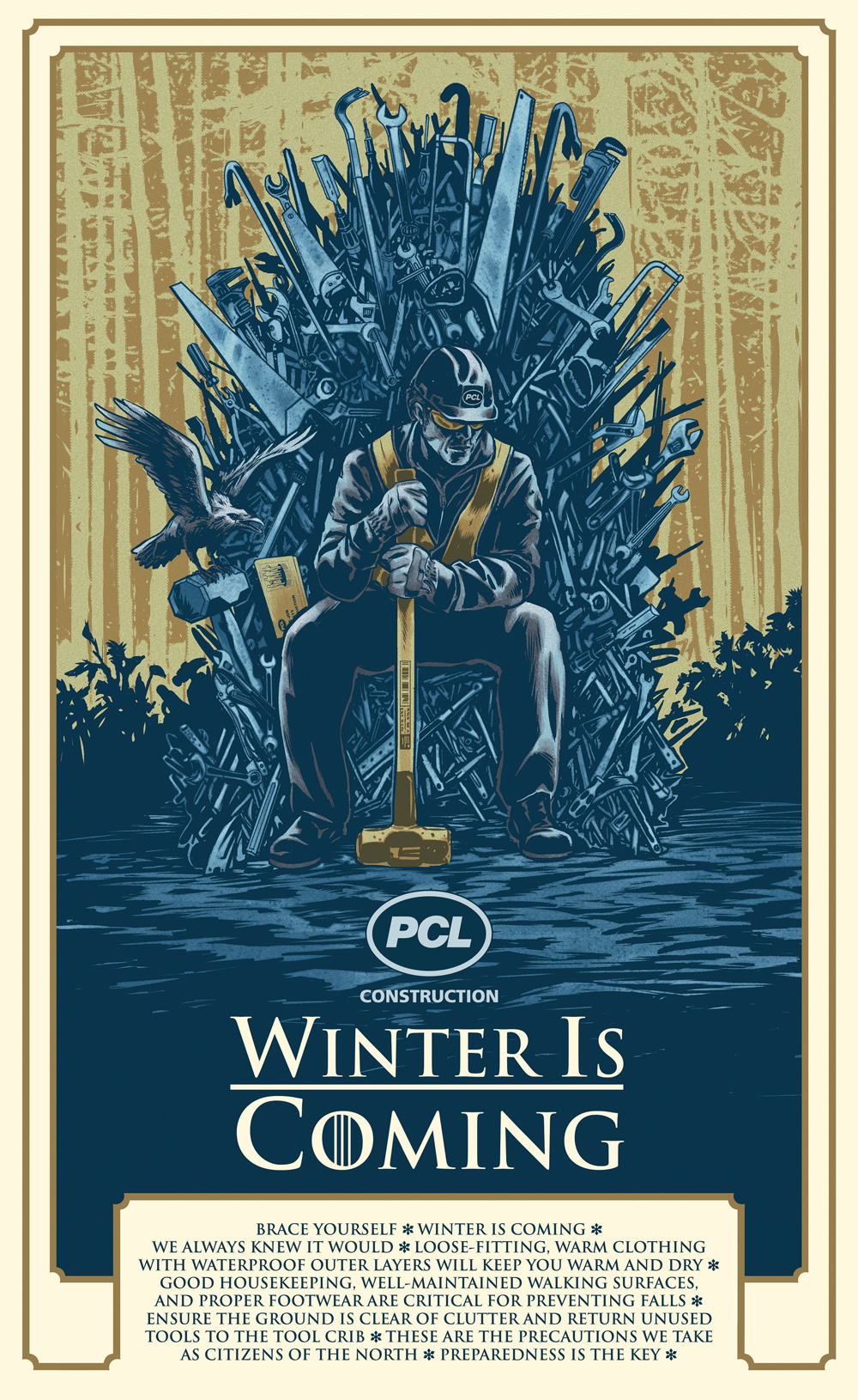 PCL Winter is Coming poster